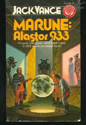 Marune: Alastor 933 (9780345245182) by Jack Vance