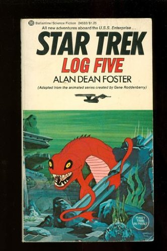 Star Trek Log Five (0345245326) by Alan Dean Foster
