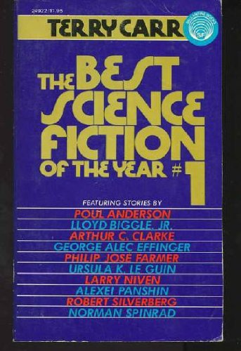 9780345249227: The Best Science Fiction of the Year #1 (No. 1)