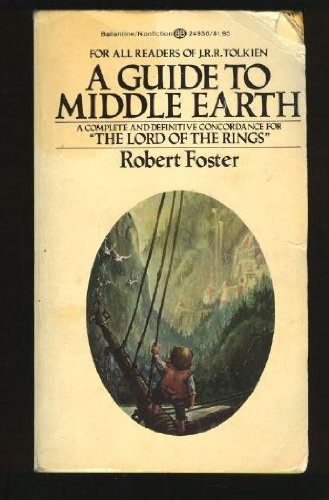 9780345249364: A Guide to Middle Earth