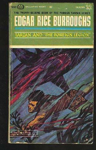9780345249784: Tarzan and the Foreign Legion