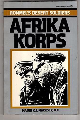 9780345249937: Afrika Korps