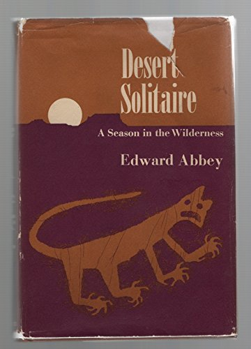 9780345250216: Desert solitaire;: A season in the wilderness