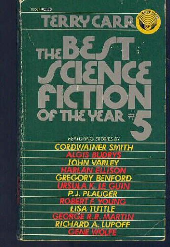 9780345250643: The Best Science Fiction of the Year #5