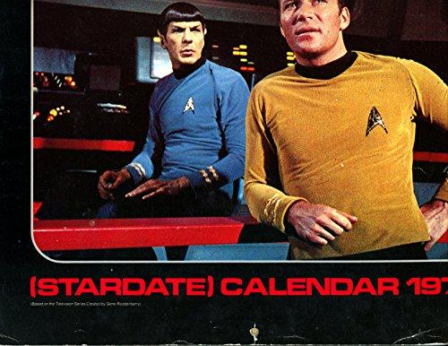 9780345251367: Star Trek (Stardate) Calendar 1977