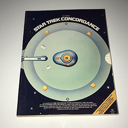 """9780345251374: """"Star Trek"""" Concordance"""