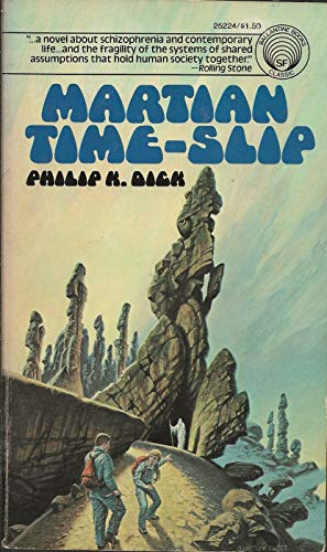 9780345252241: Martian Time Slip 1ST Edition