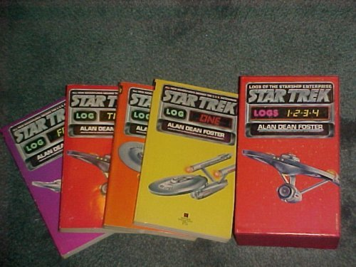 9780345253415: Star Trek Log 1 2 3 4 Volumes (Logs of the Starship Enterprise, 4 paperbacks in hard slipcase)
