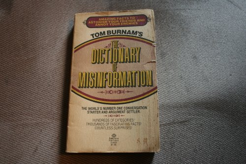 9780345254535: Dictionary of Misinformation