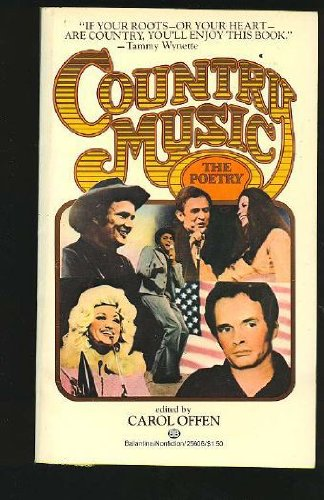 9780345256065: Country Music: The Poetry