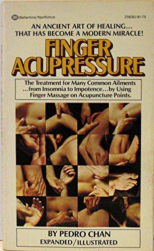 9780345256300: Finger Acupressure
