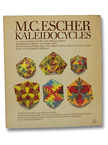 M.C. Escher Kaleidocycles, 17 Full Color Models, (new copy): Schattschneider, Doris & Wallace ...