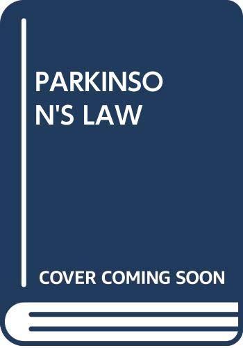 9780345257994: Parkinson's Law