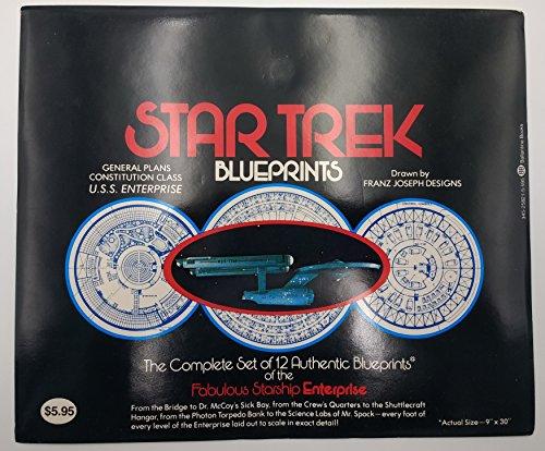9780345258212: Star Trek Blueprints