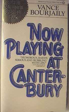 Now Playing at Canterbury: Vance Bourjaily