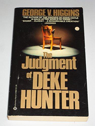 9780345258625: Judgment of Deke Hunter
