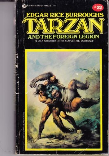 9780345259622: Tarzan and the Foreign Legion