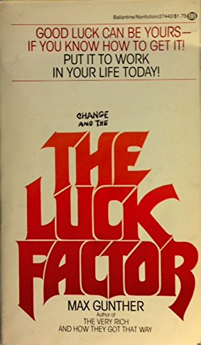 9780345274403: The Luck Factor