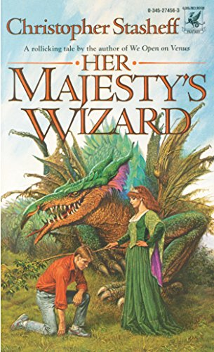 9780345274564: Her Majesty's Wizard (A Wizard in Rhyme)