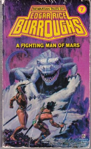 A Fighting Man of Mars (Mars #7 (Del Rey Books Numbered))