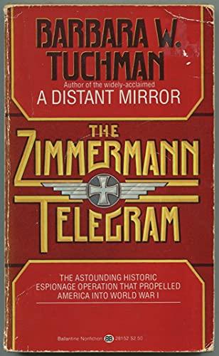 9780345281524: The Zimmerman Telegram