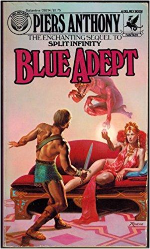 9780345282149: Blue Adept (Apprentice Adept, No. 2)