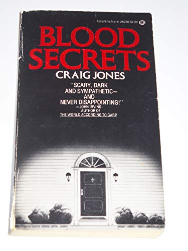 Blood Secrets: Jones, Craig