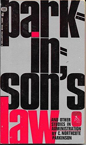 9780345282774: Parkinson's Law