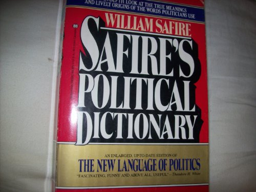 9780345283931: Safire's Political Dictionary