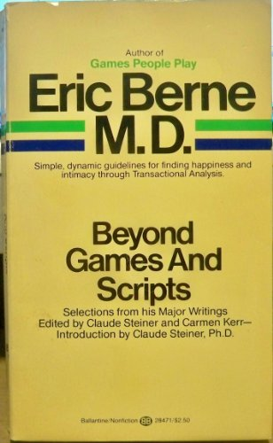 9780345284716: Beyond Games and Scripts