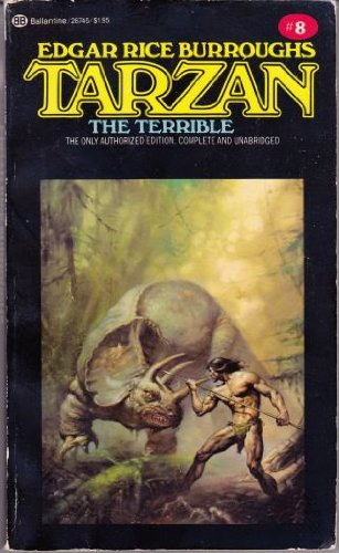 9780345287458: Tarzan the Terrible (Tarzan Series #8)