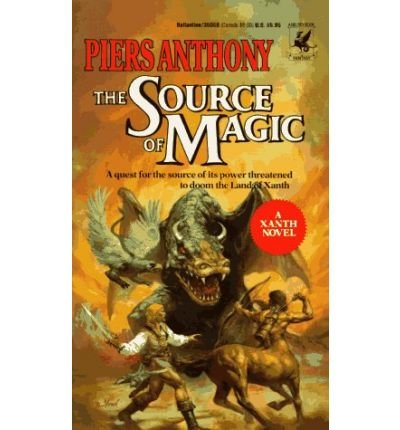 The Source of Magic (0345287657) by Piers Anthony