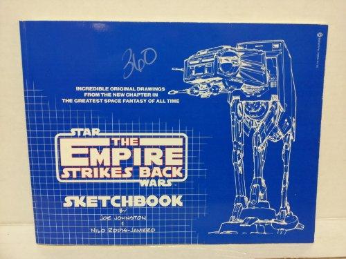 The Empire Strikes Back Sketchbook [Jun 01, 1980] Joe Johnston; Nilo Rodis-Jamero and Diana Attias:...