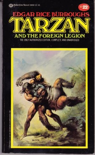 9780345289810: Tarzan and the Foreign Legion (Tarzan Series #22)