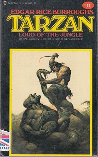 9780345289865: Tarzan, Lord of the Jungle (Edgar Rice Burroughs Tarzan novels)