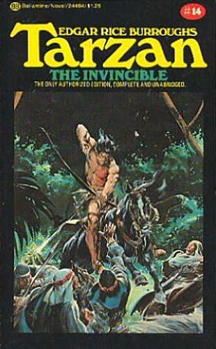 9780345289896: Tarzan the Invincible (Tarzan Series #14)