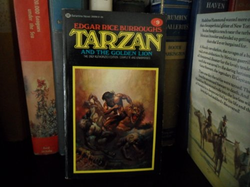 9780345289988: Tarzan and the Golden Lion (Tarzan novels)