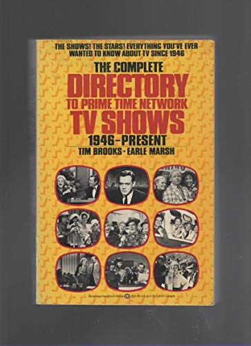 9780345290045: The Complete Directory to Prime Time Network TV Shows 1946 - Present