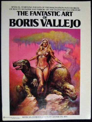 9780345290274: The Fantastic Art of Boris Vallejo
