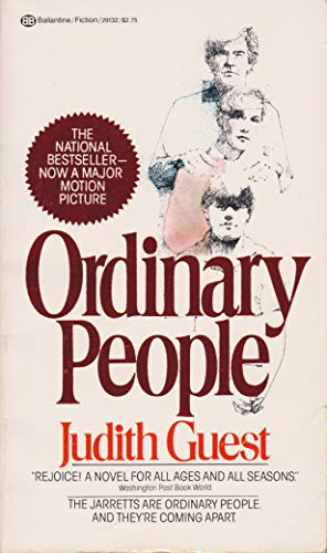a book analysis of ordinary people by judith guest At the time i saw ordinary people, i was in the midst of major depression and   alvin sargent (best adapted screenplay oscar winner from judith guest's novel.