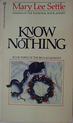 9780345293138: KNOW NOTHING