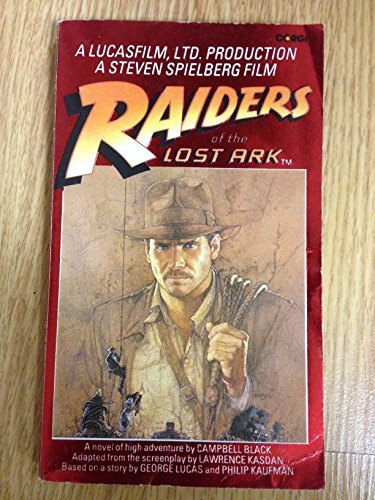 Raiders of the Lost Ark (SIGNED): Black, Campbell