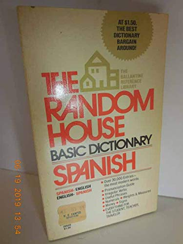 9780345296207: The Random House Basic Dictionary Spanish English Spanish (The Ballantine reference library)