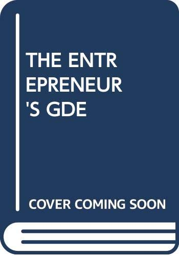 9780345296344: The Entrepreneur's Guide