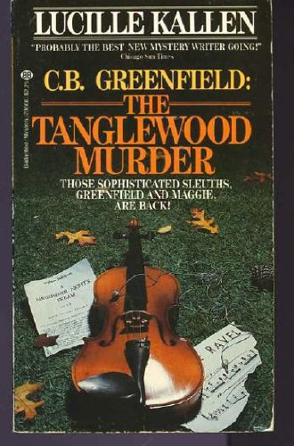 9780345296689: C. B. Greenfield: The Tanglewood Murder