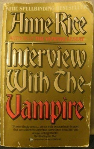 9780345298829: Interview with the Vampire