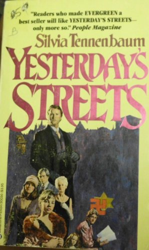 9780345300300: Yesterday's Streets