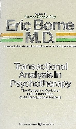 9780345302045: TRANSACTIONAL ANALYSIS