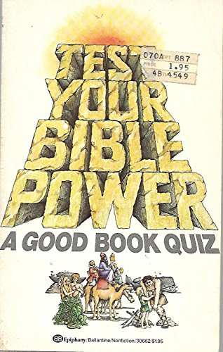 Test Your Bible Power: Stan Shanks