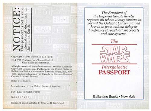 9780345310538: The Star Wars Intergalactic Passport